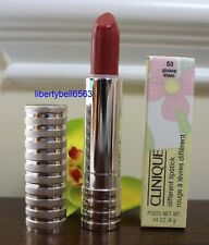 CLINIQUE Different Lipstick (CHOOSE COLOR) FULL SIZE -NEW IN BOX -Discontinued
