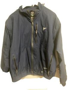 Zero Restriction Tour Series Gore-Tex Jacket Royal Golf 1/4 Zip L Excellent