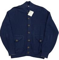 Brunello Cucinelli Garza Strickjacke Cardigan Blouson Style Knitwear Jacke 50