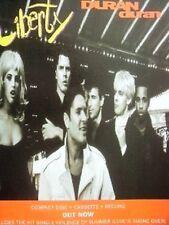 "DURAN DURAN  Liberty UK magazine ADVERT / mini Poster 11 x 8"""