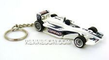 Custom Keychain Williams Formula 1 Racing #9 Compaq White