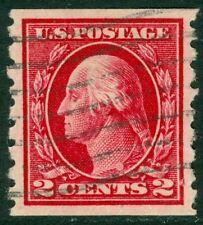 EDW1949SELL : USA 1912 Sc #413 Used Beautiful XF PSAG Cert Graded 90 SMQI $85.00
