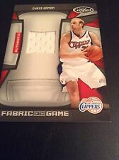 Chris Kaman Clippers 2009-2010 Certified Fabric Of The Game #FOG-CK  43/250