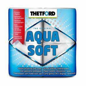 Thetford Aqua Soft  Chemical Toilet 4 rolls Tissue - Master