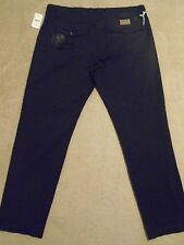 PRPS GOODS CO. Black Tapered Patched Repaired Khaki Pants Jeans 34 Orig. $400+