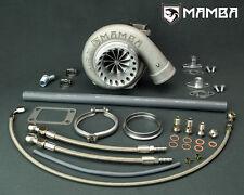 """MAMBA Ball Bearing Turbo TOYOTA 1JZ 2JZ 4"""" Bullet AS GT3582R w/ .82 T3 V-Band"""
