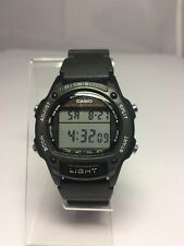Casio W-93H Unisex Black 50M WR Watch LED Light Alarm Multi Function