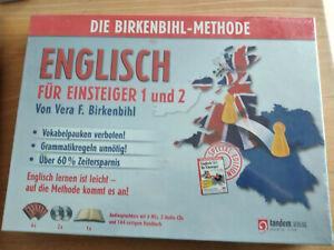 Die Birkenbihl Methode Englisch Für Einsteiger 1 und 2 Tandem Neu OVP