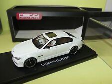 BMW LUMMA CLR 750 Blanc RENN MINIATURES 1:43