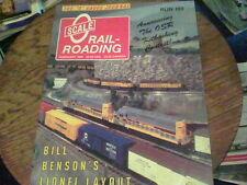 Scale O Railroading run 103 Feb 1989 Bill Benson's Lionel Layout, Steam Locom s5