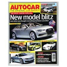 Autocar Magazine 21 January 2009 mbox2718 New model Blitz - New Renault Megane R