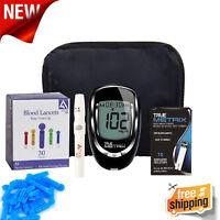 Glucometer Blood Glucose Starter Kit Sugar Monitoring Test Diabetes Diabetic