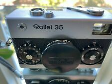 Vintage Rollei 35 'Made in Germany' 35mm Rangefinder Film Camera With 40mm Lens