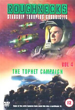 ROUGHNECKS STARSHIP TROOPERS CHRONICLES TOPHET CAMPAIGN VOL 4 DVD UK Rele New R2