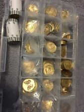 Lot Of 100 Bronze AA Medallions Alcoholics Anonymous NA Coins New