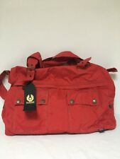 Belstaff Travel Bag Raspberry Red New With Tags