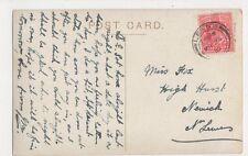 Miss Fox, High Hurst, Newick nr. Lewes 1910 Postcard, B377