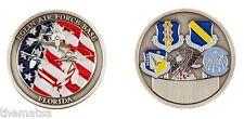 EGLIN AIR FORCE BASE FLORIDA MILITARY CHALLENGE COIN