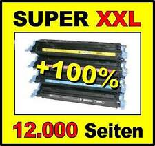 4 x Toner für HP Color Laserjet CP1215 CP1217 CP1515n 125A komp. zu CB540A -43A