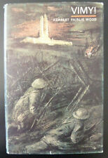 Vimy by Herbert Fairlie Wood 1967  WWI Ridge Battle Canadian Army Photos & Map