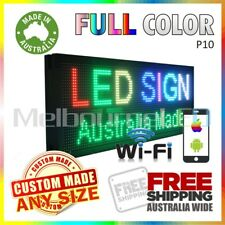 LED SIGN Full Colour WiFi Control Programmable Message Window Display 670 x 350