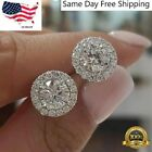 Внешний вид - 925 Silver Stud Earrings for Women Fashion Jewelry Free Shipping A Pair/set