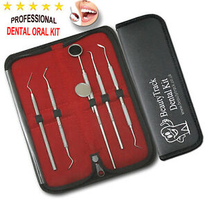 Dental Teeth Whitening Kit Dentist Tooth Plaque Calculus Tartar Remover Tools 6P