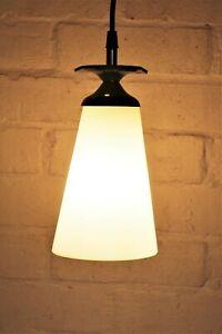 A Vintage Ceiling Light Industrial Gas Lamp Converted Salvage ex Pub Light