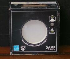 """NIB 6"""" 18 Watt Circle Dimmable Recessed LED Downlight"""