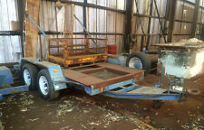 Trailer - Bogie axle equipment trailer
