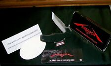 Emerson Knife USA Mini Roadhouse Tactical Knives Ser. #0984 W/Packaging,Papers