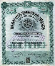 1906 Toluca, Mexico: Banco del Estado de Mexico S.A.