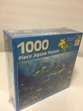 1000 piece jigsaw puzzle undersea splendor dolphind new sealed great american