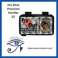 Pro Shot Precision Pacifier Copper platedPellets  Qty 200  .22 / 5.5mm  Free P&P