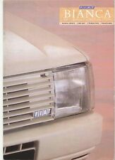 Fiat Bianca Range-  Panda Uno Strada Regata 1987 Original UK Sales Brochure