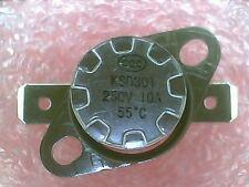 Thermostat:KSD301-B055 55ºC : 131ºF : N.C. NC:Temperature:BiMetal Switch