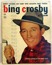 1949 BING CROSBY ALBUM MAGAZINE 50 PAGES BINGS LIFE STORY EXCLUSIVE EARLY PHOTOS