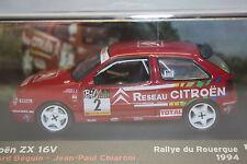 Citroen ZX 16V WRC #2, Béguin 1994 Rallye du Rouergue, IXO Altaya  Diecast  1/43