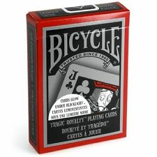 Bicycle Tragic Royalty Playing Cards Glowing Back -glows under black light New