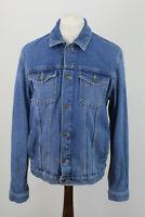 TOPMAN Denim Jacket size L