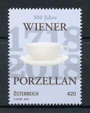 Austria 2018 MNH Viennese Porcelain Vienna 300 Years 1v Set Art Design Stamps