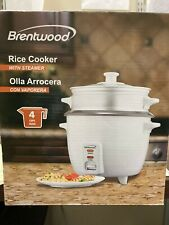 Brentwood Rice Cooker with Steamer