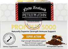 Peter&John Propolis 5000 natural immune support 60capsule dietary supplement