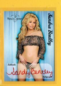 D28206  2005 Bench Warmer Autographs #4 Sandra Bentley