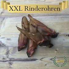 25 XXL BEEF EARS WITH SHELL approx. 2 4.40 lbs Chews as Pig ears Lamb ears