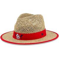 New Era St. Louis Cardinals Natural Shaded Straw Hat