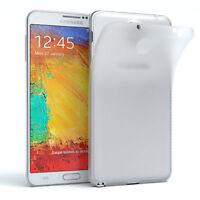 Schutz Hülle für Samsung Galaxy Note 3 Neo Cover Handy Case Matt Transparent