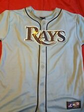 Tampa Bay Rays Evan Longoria Jersey Youth XL (18-20) Majestic