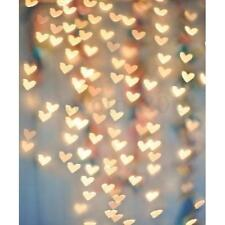 Heart-shaped Halo Light Photography Background Backdrop For Studio Prop 5X7FT