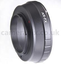 AR-FX Konica AR-Mount Lente Adaptador Anillo de Cámara Fuji Fujifilm X